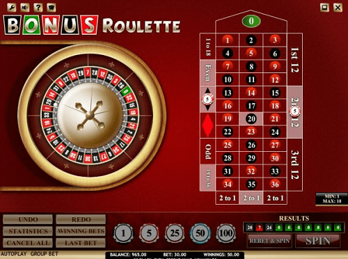 bonus roulette review and rating