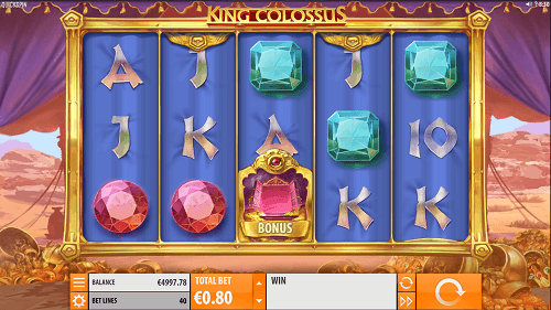 king colossus pokie review