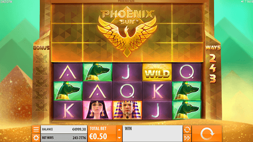 phoenix sun slot review