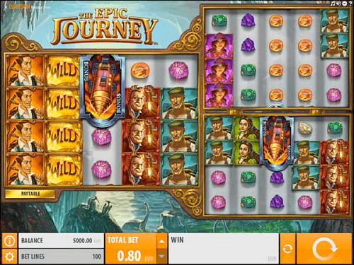 the epic journey pokie review