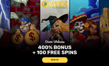 Ozwin Casino Lobby