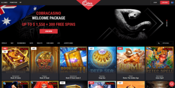 cobra casino bonus