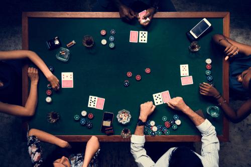 poker words